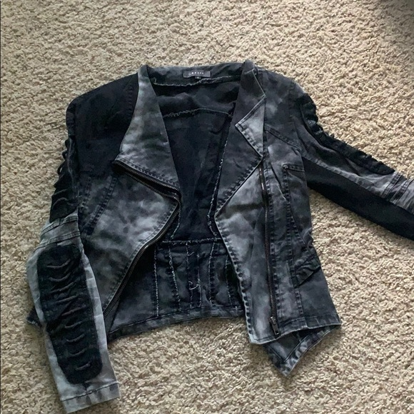 Jackets & Blazers - Black moto jacket